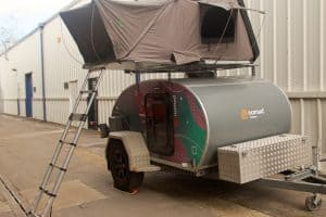 Direct4x4 Nomad Tent Front