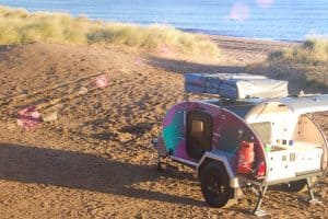 Nomad Trail on the beach